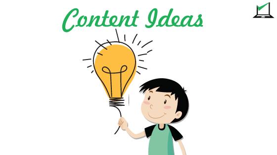Content Ideas Quickly
