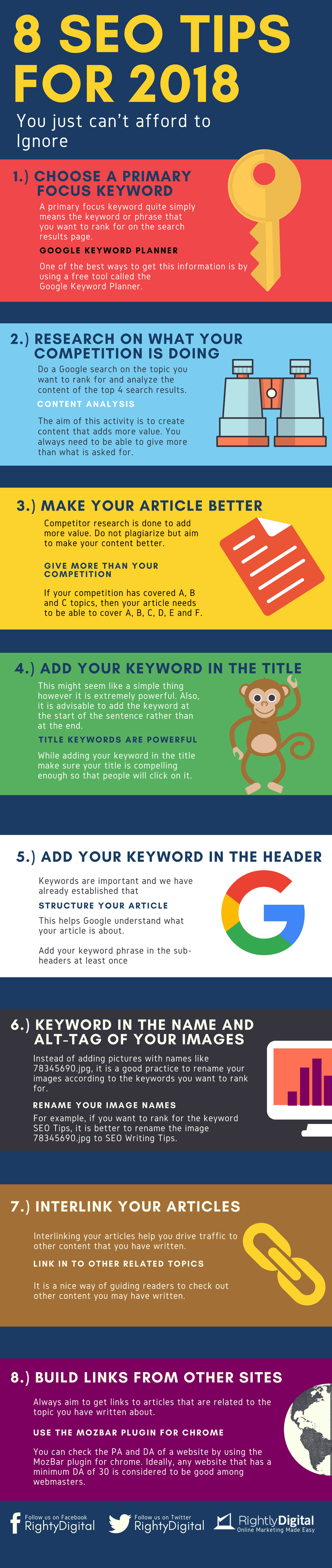 8-Seo-Tips-You-cannot-afford-to-ignore-in-2018-Infographic