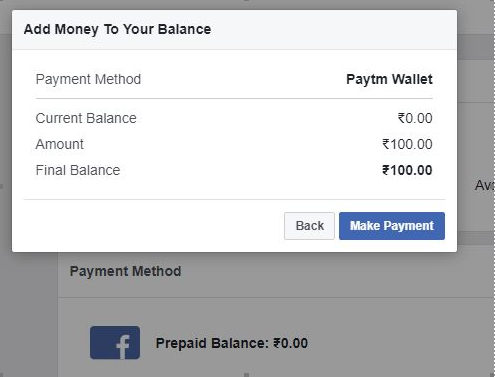 How to Pay for Facebook Ads in India with Paytm - Rightly
