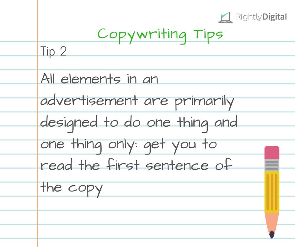 Copywriting Tip 2