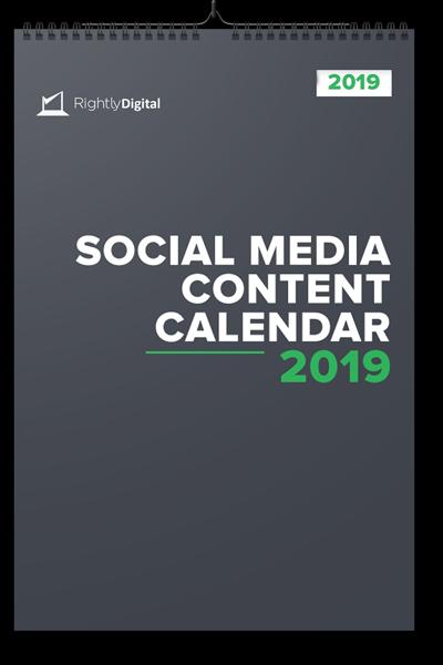 Social Media Calendar 2019