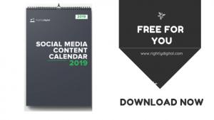 Social Media Content Calendar 2019