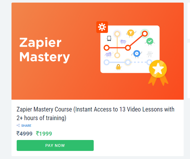 Zapier Mastery Course Review
