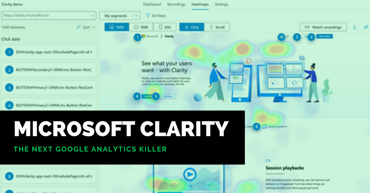 Microsoft's Free Web Analytics Tool Clarity May become the Next Google Analytics Killer